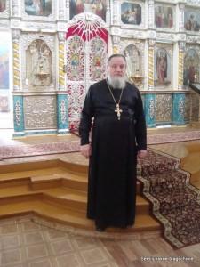 протоиерей Иоанн Спельник, настоятель храма во имя св.Архистратига Михаилс.Девица