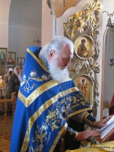 протоиерей Борис Узаревич, настоятель храма в с.Избище