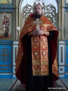 иерей Александр Соколов, настоятель храма в честь Казанской иконы Божией Матери с.Латное