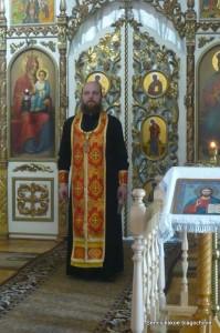 иерей Константин Кривонос, настоятель храма во имя Святой Живоначальной Троицы пос.Латная